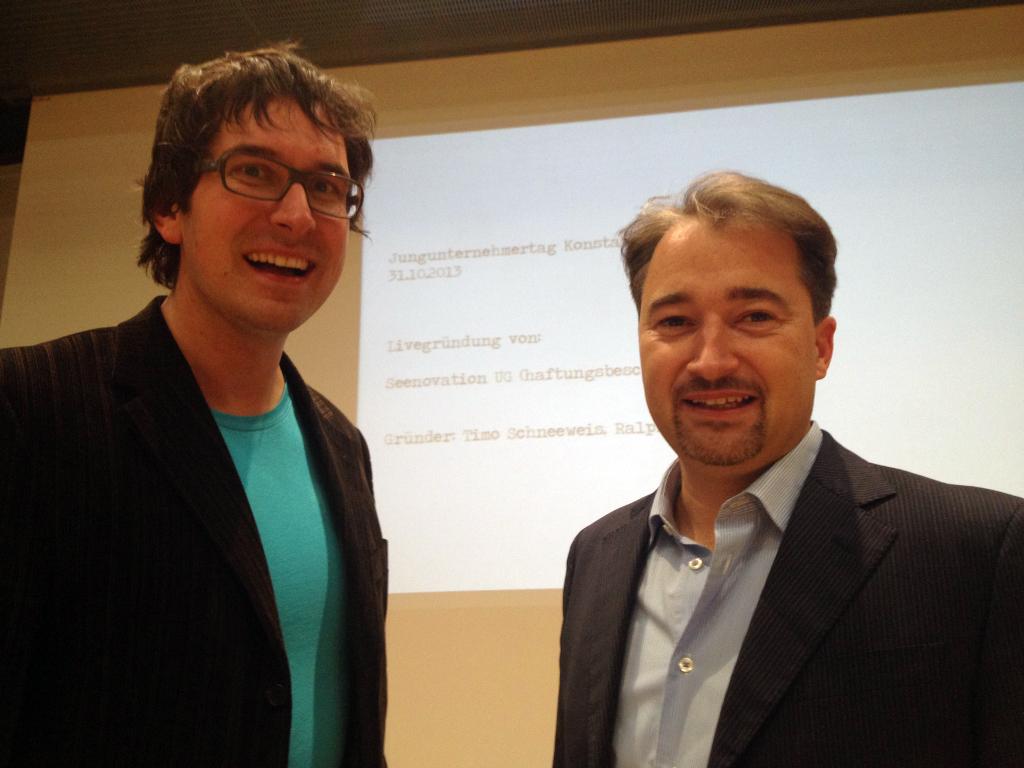 Ralph J. Schiel und Timo Schneeweis